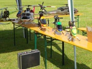 Ausstellung Modellhubschrauber
